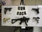 Brick-built guns