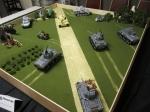 Normandy armor battle