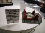 $1000 was raised for veterans organizations