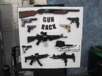 Bullseye Brick's Gun Rack