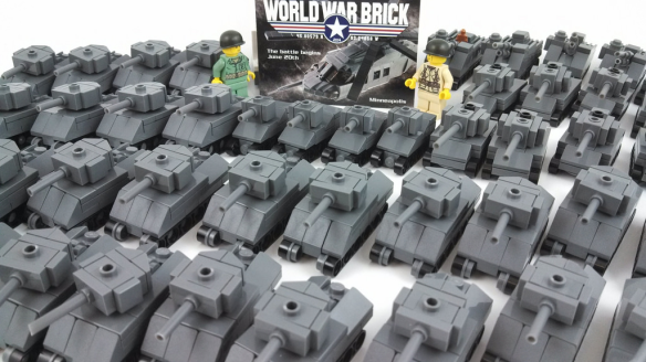 Micro Tank Battle Game Tournament | World War Brick